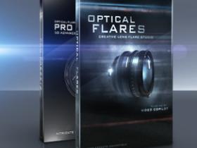 镜头光晕插件 VideoCopilot Optical Flares 1.2.132 for AE CS6 Mac/Win 32/64Bit下载,含注册机