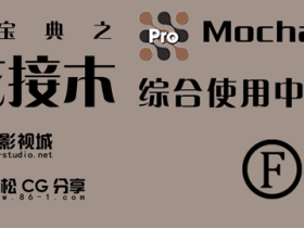 【葵花宝典之移花接木】Mocha pro 综合使用中文教程(完结)