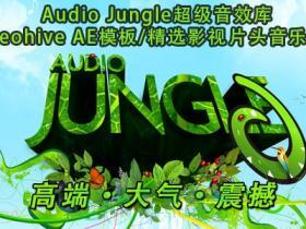 2014年 Audio Jungle 超级音效库AE模板/精选影视片头音乐精选