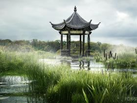 maya和vray创建沼泽景观 Digital Tutors – Creating a Swampy Landscape Using V-Ray Scatter in Maya