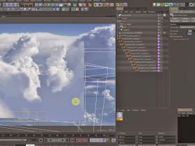 使用TFD在C4D中创建真实的云朵 Creating Realistic Clouds in Cinema 4D Using TFD