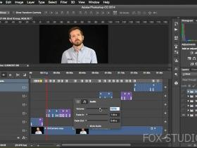 【lynda教程】用PS编辑视频 Editing Video and Creating Slideshows with Photoshop CC