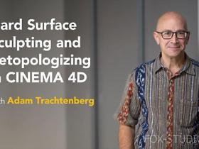 【lynda教程】雕刻教程 Hard Surface Sculpting and Retopologizing in CINEMA 4D