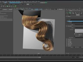 Maya 长发制作训 Xgen: guide curve based grooming essentials