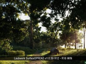 C4D植物生成插件预设 Laubwerk SurfaceSPREAD v1.0.39 R12-R16 WIN