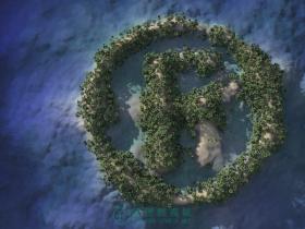 C4D制作 - 孤岛求生(海洋陆地制作)