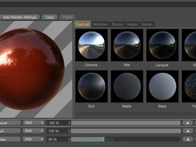 灰猩猩真实反射材质C4D插件(含使用教程) GreyscaleGorilla Topcoat v1.0 C4D R16/R17 Win/Mac
