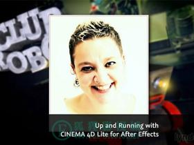 Lynda – AE 和 C4D LITE 入门教程 CINEMA 4D Lite for After Effects: Getting Started