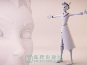 【maya英文教程】创建卡通人物 - 角色建模