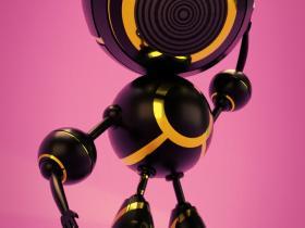Arnold For C4D 机器人快速建模