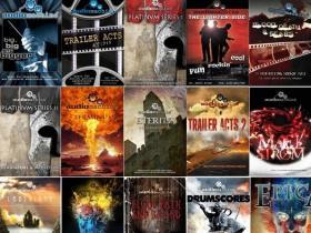 23张影视配乐专辑 AUDIOMACHINE - DISCOGRAPHY (23 ALBUMS)