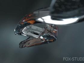 C4D与Realflow制作3D水花流体LOGO演绎
