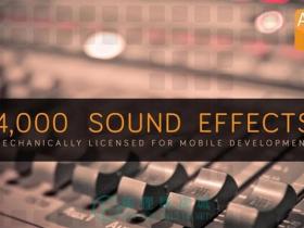 【音效】4000多APP,游戏配乐音效