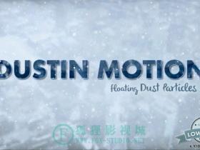 空中尘埃视频素材 Dust in Motion - Organic Particles