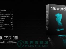 58组高清动态烟雾特效合成视频素材 Smoke Collection 01